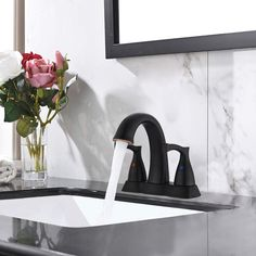 center set sink and faucet