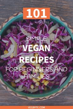 Looking for simple and delicious vegan recipes you can make at home? Come check out our curated list of the best, simple vegan recipes! Simple Vegan Recipes   Healthy Simple Vegan Recipes   Simple Vegan Salads   Easy Vegan Diet Recipes   Vegan Food   → VegByte.com   #simpleveganrecipes   #easyveganrecipes