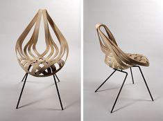 Saji Chair by Laura Kishimoto