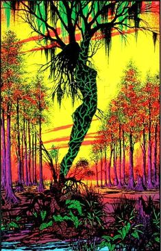 Trippy Blacklight Posters From the Psychedelic Heyday Whoa man. Is this poster glowing? Wait. Is that a centaur? http://www.atlasobscura.com/articles/trippy-blacklight-posters-from-the-psychedelic-heyday?utm_source=facebook.com