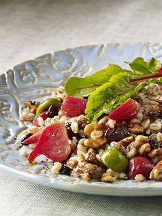 Emmer-Walnuss-Salat mit Rote Bete