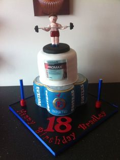 1000 Images About Gym Cakes On Pinterest Gym Cake