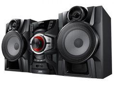 Mini System 1 CD 420W RMS MP3 Karaokê e USB - MX-F730 - Samsung com as melhores condições você encontra no Magazine Miezmes. Confira!