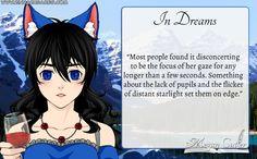 "Prompt: ""In Dreams."" Read more at megancutler.net"