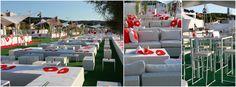 Saint Tropez •  Evento Sportivo allestito con arredi Oltreilgiardino. #Oltreilgiardino #SaintTropez #GiragliaRolexCup www.oltreilgiardino.biz