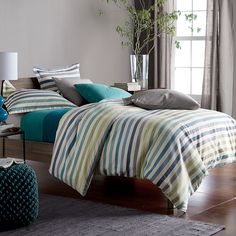 5 oz. Piccadilly Flannel Duvet Cover/Comforter Cover and Sham | The Company Store