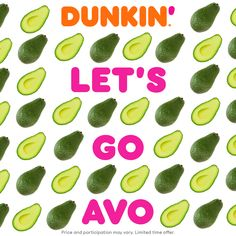 It's delicious avocado for all at Dunkin'! Creamy avocado on toasted sourdough bread, and sprinkled with everything bagel seasoning. It's a delish wish come true!  Enjoy it today with a new Cold Brew with Sweet Cold Foam. Leopard Rug, Apple Watch Wallpaper, Dinner This Week, High Fat Diet, Everything Bagel, Easy Meal Prep, Keto Diet For Beginners, Sourdough Bread, Keto Diet Plan