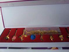 Sailor Moon Pretty Guardian Tsukino Usagi Necklace Keychain 8pcs Gift Cosplay | eBay