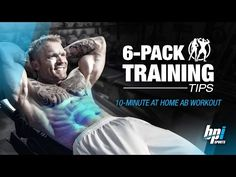 10 Minutes At Home Ab Workout - 6-Pack Training - YouTube