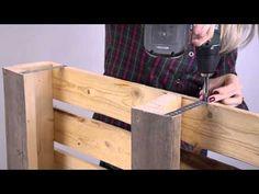 Maak van steigerhout en pallets zelf een wijnrek   Praxis
