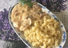 Zöldfűszeres tejszínes gombapaprikás | Erka ☺️ receptje - Cookpad receptek Macaroni And Cheese, Beverages, Food And Drink, Ethnic Recipes, Diet, Mac And Cheese