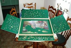 Jigsaw Puzzle Lazy Susan For Our Home Pinterest Our