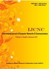 The International Journal of Computer Networks & Communications (IJCNC) is a bi monthly open access peer-reviewed journal that publishes articles which contribute new results in all areas of Computer Networks & Communications.The journal focuses on all technical and practical aspects of Computer Networks & data Communications. http://airccse.org/journal/ijcnc.html
