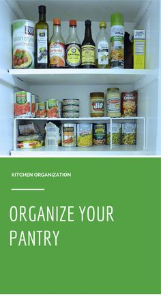 Tips for Kitchen Org