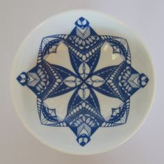 porcelain with once-off blue decal Decorative Plates, Porcelain, Tableware, Decal, Blue, Home Decor, Porcelain Ceramics, Dinnerware, Decoration Home