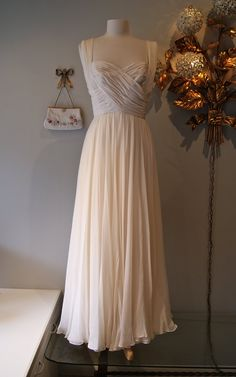 Inspiration for a reception dress- too funny that it's from my work!!
