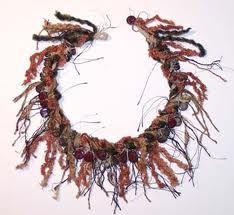 fiber necklace - Google Search