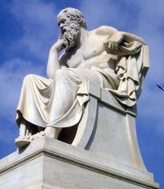 Evie Pride Συγγραφέας: Το μυστικό του Σωκράτη για να πετύχεις οτιδήποτε ε... Greek, Statue, History, Art, Pictures, Art Background, Historia, Kunst, Performing Arts