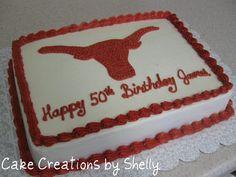 Texas Longhorn cake | Flickr - Photo Sharing!