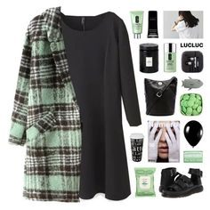 """""""LucLuc 2"""" by novalikarida ❤ liked on Polyvore featuring Dr. Martens, Könitz, Marc by Marc Jacobs, Burt's Bees, Clinique, STELLA McCARTNEY, Dr. Bronner's, Givenchy, Voluspa and Alexander McQueen"""