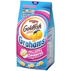 Pepperidge Farm Goldfish, Starbucks Vanilla, Goldfish Crackers, Candy Brands, Cupcake Flavors, Vanilla Cupcakes, Vanilla Flavoring, Pop Tarts, Graham