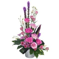 Pink Lady Modern Container Flower