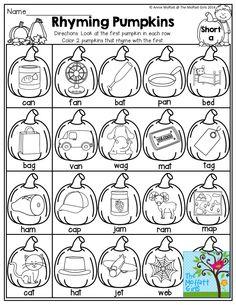 Pumpkins that rhyme!