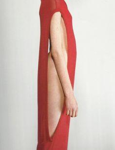 hussein chalayan dress by horst diekgerdes