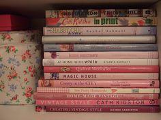 pink, decor, books, shabby, kır evi, pembe, dekor