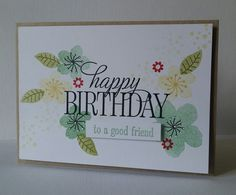 Hello there, today I want to share what we made at my last monthly class   using the Botanical Gardens bundle             we made 3 cards, ...