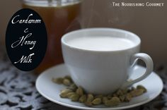 Recipe: Cardamom and Honey Milk - perfect in the evening for a good night's sleep.