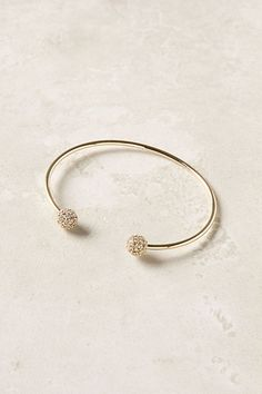 armcandy!? Pave Pompom Cuffs #anthropologie