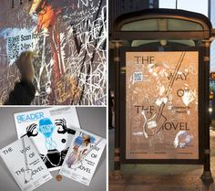 The Museum of Contemporary Art in Chicago has employed scratch-off advertising on bus shelters around the city to hype its newest exhibition...