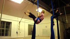 Pretty and simple! Robyn Rooke, Aerial Silks - Figurehead