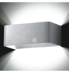 Wall light - LED design rectangle Quadra 6x1W - 20cm