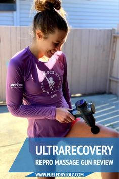 If you are looking for a massage gun to help you recover faster and better with running, the Ultrarecovery Repro Massage Gun is a great option! #running #recovery Jogging For Beginners, Running For Beginners, Running Apparel, Running Gear, Running Injuries, Runner Problems, Glutes, Recovery, Massage