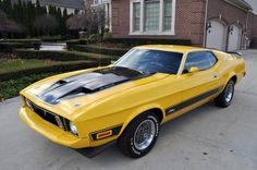 1973 Mustang Mach 1, the ORIGINAL Eleanor!