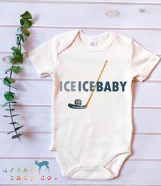 Baby Shirts, Onesies, Baby Onesie, Hockey Baby, Hockey Nursery, Hockey Wife, Hockey Outfits, November Baby, Baby Club