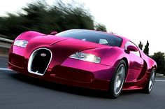 Hot Pink Bugatti Veyron .... no words can describe my love<3