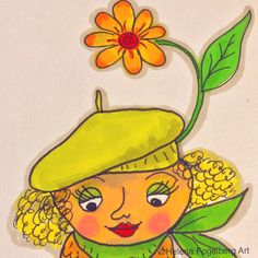 Don't forget to put a flower in your hat today and smile!!