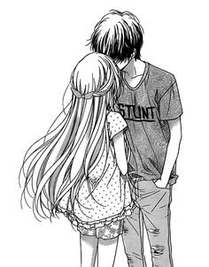 black-and-white-couple-cute-kawaii-Favim.com-3308637.png (500×640)