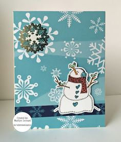 ~ Marilyn's Crafts ~: SBC December Card Kit - 2015