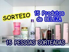 SORTEIO TOP - 15 PRODUTOS de BELEZA
