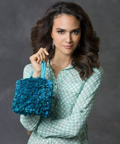 Got-to-Have-It Bag Crochet Pattern  #crochet  #purse  #redheartyarns