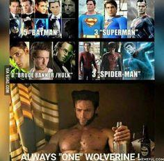 All hail Logan