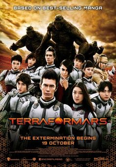 Live-Action Terraformars Film's English, Indonesian-Subtitled Trailer Streamed