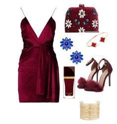 """""""Red"""" by andela-balazova on Polyvore featuring Boohoo, Serpui, Kate Spade and Eloquii"""