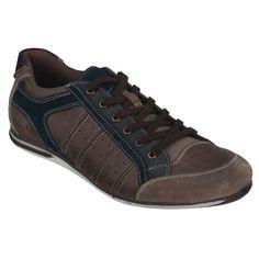 Diese klassischen Sneaker werden Sie nie schlecht aussehen lassen. Mit diesen coolen Schnürern von Conway machen Sie bei den Mädels immer eine gute Figur. Auch 2013 überraschen wir Sie wieder mit tollen Sneakers von ConWay. ConWay, Herren Sneaker – Prag – braun;