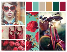 #101 :: every girl needs a red bicycle, red shoes  red