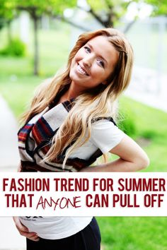 A fun fashion trend for summer that anyone can pull off!! #tribal #summer #fashion #howdoesshe